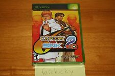 Capcom vs. SNK 2: EO (Microsoft Xbox) NEW SEALED Y-FOLD W/UPC, MINT, RARE!