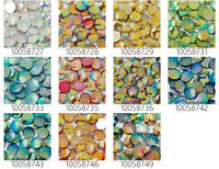 20mm Irridescent Acrylic Mermaid Scale Dragon Fish scale Cabochons 50pcs