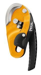 Petzl RIG Self-Braking Descender Compact Rope Access Climbing (Gold)