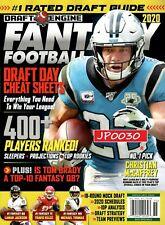 Draft Engine Fantasy Football 2020, Draft Day Cheat Sheets, New/Sealed