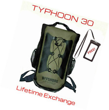 OFFSHORE 30L Heavy Duty Waterproof Backpack Dry Bag & Cell Phone Case. Boating,