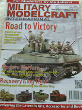 MILITARY MODELCRAFT MAGAZINE SEP 2015 NORMANDY DIORAMA PART 2 COUGAR KING TIGER