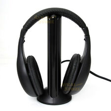 5 in 1 HIFI Wireless Headset FM Radio Monitor Mp3 PC TV Audio Mobile PHONES KK