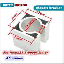 Nema23 Motor Mount Bracket For 57 Stepper Motor Aluminum Alloy Holder Cnc Router