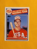 1985 Topps Mark McGwire #401 Baseball Rookie Card RC OLY USA - A's - Cardinals