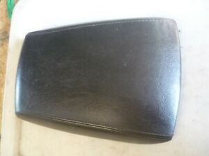 FORD BA BF XR6 XR8 FPV LEATHER STITCHED CONSOLE LID