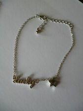 Anklet,Body Jewellery,Beach,Festival, Party Gold/Silver Lucky&Star Charms Chain
