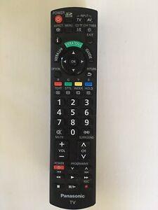 Genuine Panasonic TV Remote Control N2QAYB00352