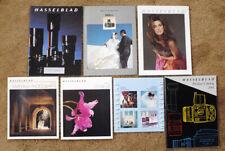 7 HASSELBLAD catalog brochures information booklets