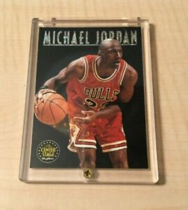 1993-94 SkyBox Premium MICHAEL JORDAN *Center Stage* #CS1 Chicago Bulls HOF