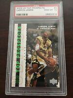 2003 Upper Deck Lebron James PSA 10 Top Prospects #3 RC Rookie Lakers Future HOF