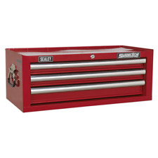 AP33339 Sealey Add-On Chest 3 Drawer with Ball Bearing Runners - Red