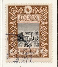 Turkey 1916 Early Issue Fine Used 5p. 056085