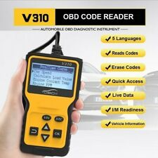 V310 OBD2 Car Engine Check Code Scanner Reader Fault Code Diagnostic Scan Tool