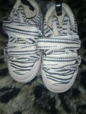 New with tags Zebra Print Bunny Ears Trainers From Next-Infant Size 4