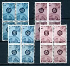 NVPH  882-885 postfris blokken van 4