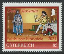 8137606 PM -  Philatelietag Salzburger Festspiele - Mozart - Juli 2021 ** pt0528