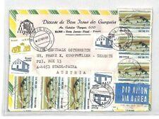 CA341 1988 Brasil * Bom Jesus * Cubierta de correo aéreo misionero vehículos Pts