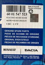 Neu original Dacia MCV Logan 04-08 Außenspiegel rechts elektrisch, beheizbar
