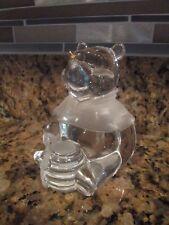 Lenox Disney Crystal Winnie The Pooh Figure