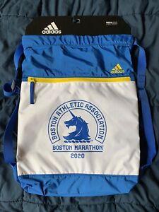 NEW! Boston Marathon 2020 Adidas Amplifier Sackpack Backpack Bag