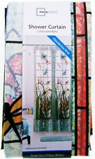"Stained Glass Window Pattern ~ Shower Curtain ~ 70"" X 72"" ~ Mainstays 100% PEVA"