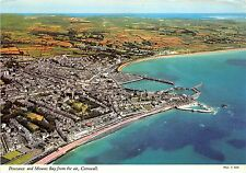 B86894 penzance and mounts bay from the air cornwall   uk