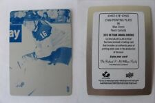 2014-15 UD Team Canada #96 Max Domi 1/1 cyan plate RC rookie RARE 1 of 1