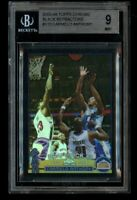 2003-04 Topps Chrome Carmelo Anthony /500 Rookie Black Refractor BGS 9 Mint RC