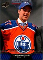 2015-16 Upper Deck Hockey Connor McDavid Collection  PICK / CHOOSE YOUR CARDS