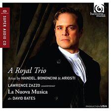 Lawrence Zazzo - A Royal Trio: Handel, Ariosti, Bononcini [CD]