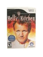 Hell's Kitchen: The Game (Nintendo Wii, 2008) CIB, *BRAND NEW & FACTORY SEALED*