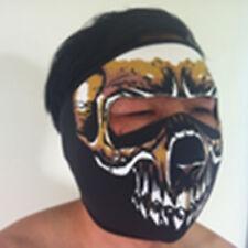 Neoprene Full Face Mask Biker Assassin SKULL Sports Motorbike
