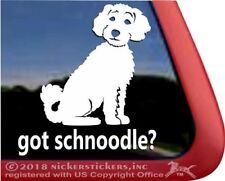 Got Schnoodle? High Quality Vinyl Dog Window Decal Sticker