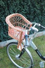 FAHRRADSITZ Fahrradlenker Fahrradkorb  Korb Lenkersitz Kinderfahrradsitz Weide