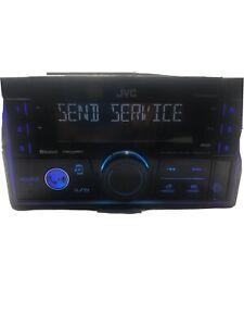 JVC KW-X830BTS Double 2 DIN Media MP3 Player Spotify Pandora SiriusXM Bluetooth