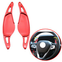 For BMW 5 7 Series G30 G11 X4 M5 F26 F90 2PCS Shift Paddle Steering Wheel Lever