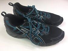 Asics Womens Gel Enduro 7 T1G5N Running Trail Shoes Sneakers Blue Black Size 9.5
