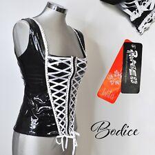 Phaze Alternative Clothing Sexy Gloss PVC Bodice Corset Size 12 - Gothic/Punk
