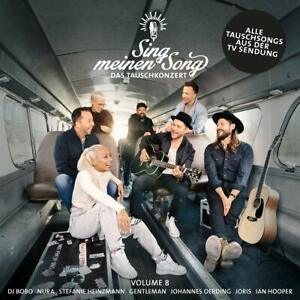 SING MEINEN SONG Das Tauschkonzert Vol. 8 DELUXE ( 07.05.2021 ) 3 CD NEU & OVP