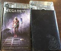 Metallica Megadeth Cassette Tapes Metal Black Album/ Countdown To Extinction