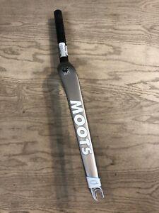 """Moots Alpha Q True Temper CRT Carbon 1-1/8"""" 700C Road Fork Rim Brake QR"""