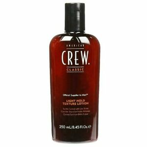 AMERICAN CREW Light Hold Texture Lotion 250ml [8.45 oz.] Low Shine/Fine Hair