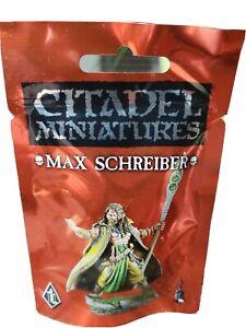 Citadel miniatures MAX SCHREIBER