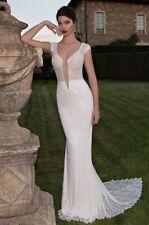 Berta 15-09 Wedding Dress Brautkleid 36 rückenfrei