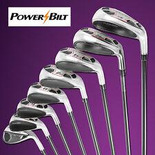 Powerbilt Golf EX-550 Hybrid Iron Set 4-SW Men's Right Handed A-Flex