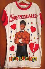 CHIPPENDALES Heartbreaker dance troupe T shirt all-male striptease 1980s sexy XL