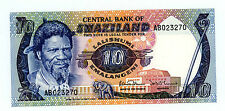SWAZILAND…..P-10c…..10 Emalangeni…..ND(1985)…..*UNC*