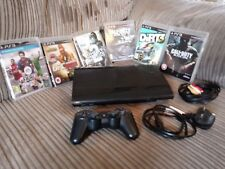 Sony PlayStation 3 CECH-4203C 500GB Super Slim Console PS3 with 6 Games