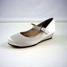 Mary Janes Low Heel (0.5-1.5 in.) Bridal Shoes